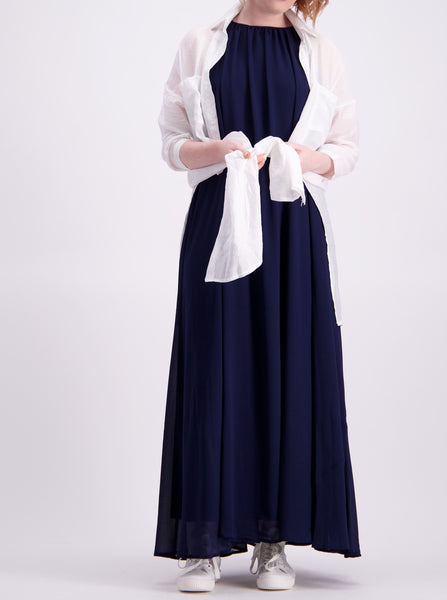 Spencer Dress - Navy