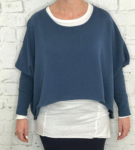 Sporty Knit Angel - French Blue