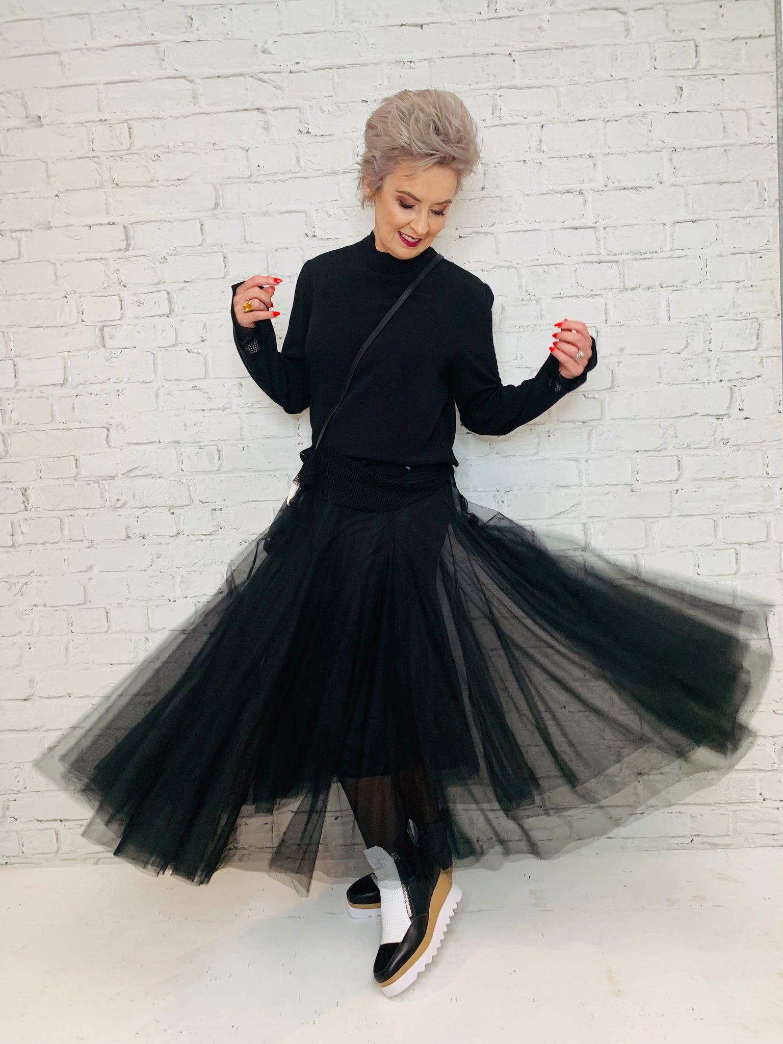 Swan Lake Tulle Tutu - Black