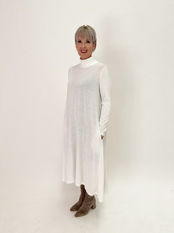 Vogue Dress - Winter White PRE-ORDER