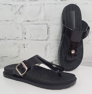Athena Slides - Black