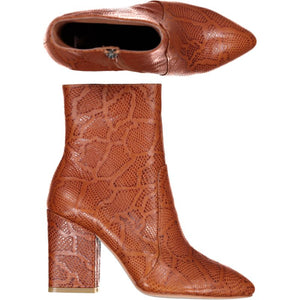 Enviable - Tan Embossed Python