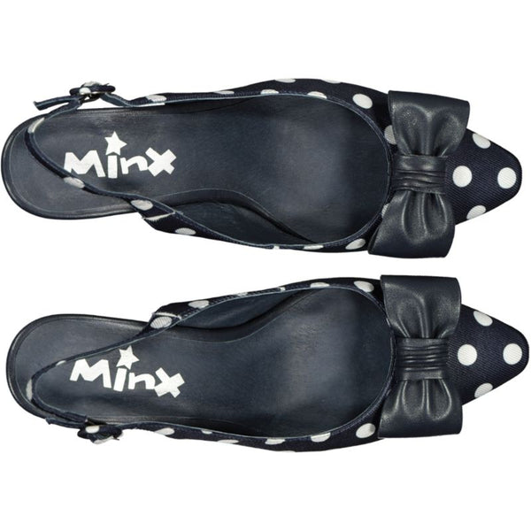 Miss Molly - Navy White Spot PRE-ORDER