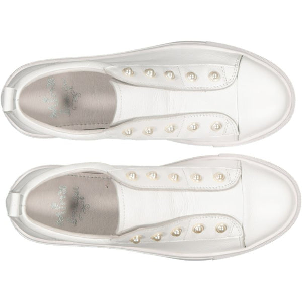 Pearla - White Milled/White Sole