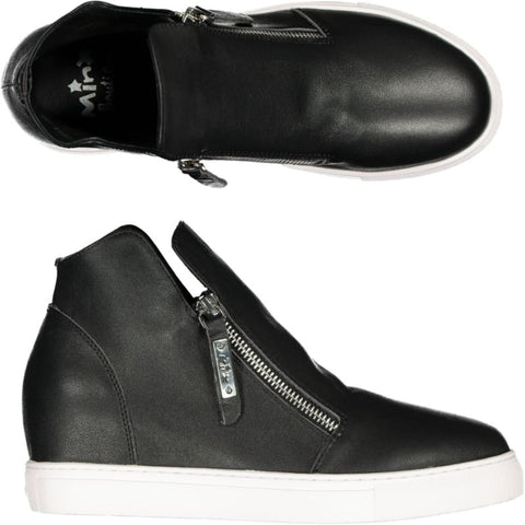 Willott Boot - Black Smooth/White Sole