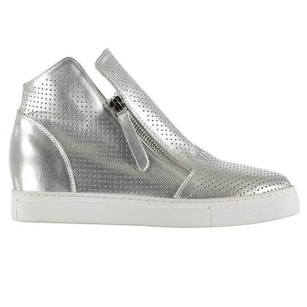 Willott Boot - Silver Perforated