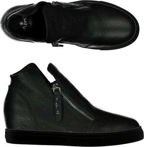Willott Boot - Black Milled/Black Sole PRE-ORDER