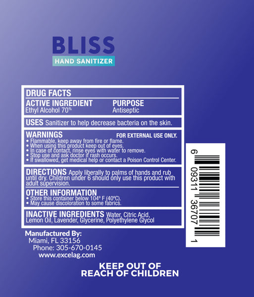 BLISS HAND SANITIZER™ 16oz.