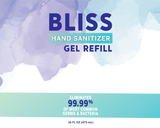 BLISS HAND SANITIZER™ GEL REFILL 16oz.
