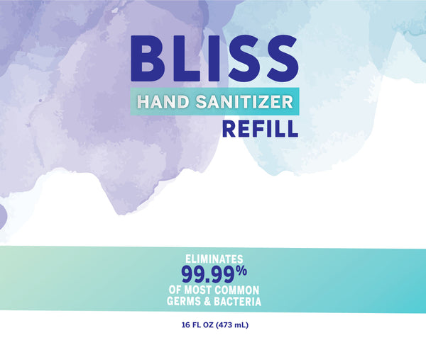 BLISS HAND SANITIZER™ SPRAY REFILL 16oz.