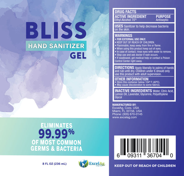BLISS HAND SANITIZER™ 8oz.