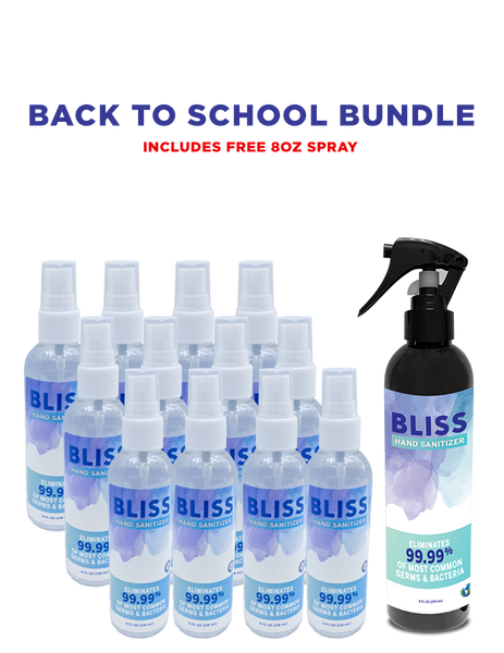 Back to School Bundle of  BLISS HAND SANITIZER™