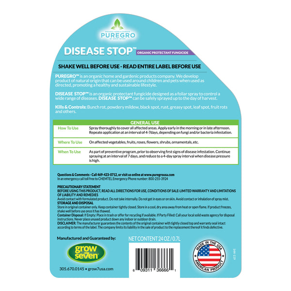 DISEASE STOP™ – 24oz. Ready-to-Use