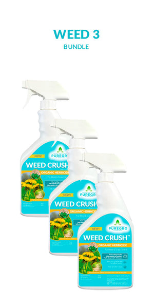 WEED CRUSH™ Bundle – 24oz. Ready-to-Use