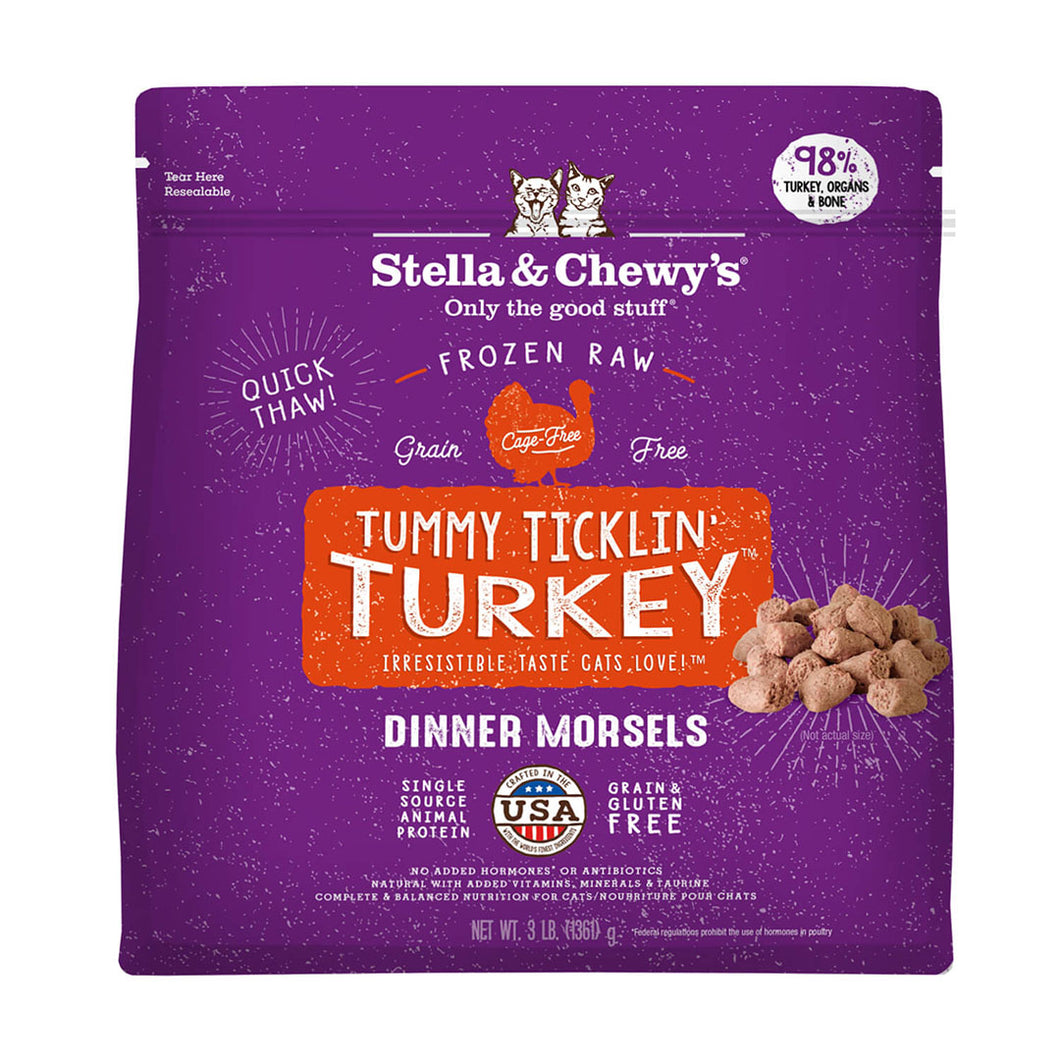 S&C Chick Tummy Ticklin' Turkey Dinner Morsels. Freeze-dried. 3.5oz