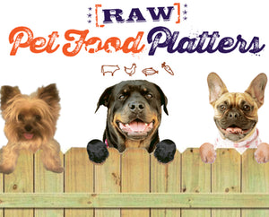 Natural Treats by Pet Food Platters (In Store/Pick Up)