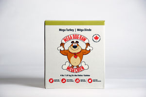 Mega Dog 4lb Box (patties)