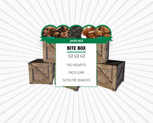 Load image into Gallery viewer, Image of Pork Mix Bite Box