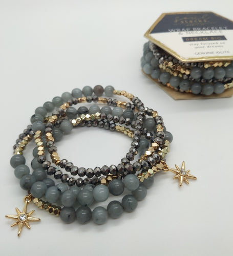Soul Stacks Wrap Bracelet & Necklace - Dream Big