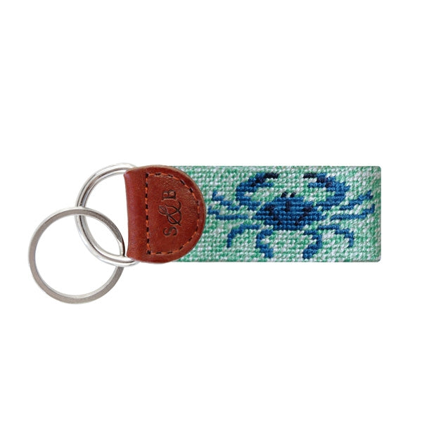 S&B BLUE CRAB KEY FOB