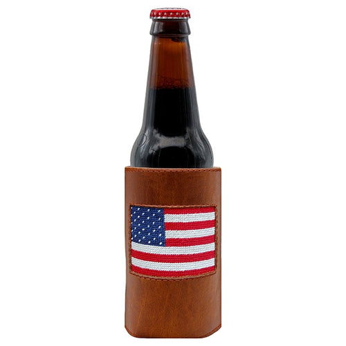 S&M AMERICAN FLAG BOTTLE COOLER
