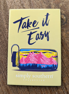 Simply Southern Take It Easy Magnet