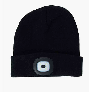 LED BEANIE BLACK