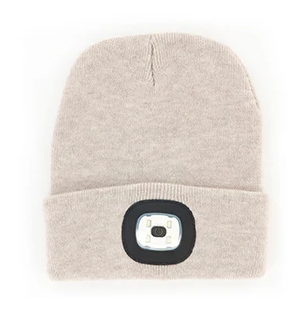 LADIES LED BEANIE OAT