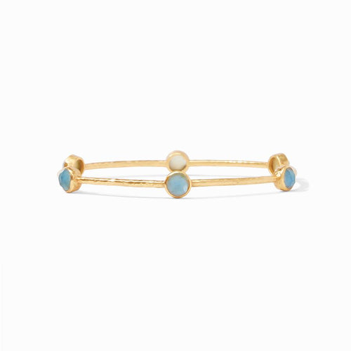 Milano Luxe Bangle - Iridescent Slate Blue