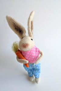 BUNNY FARMER ORNAMENT