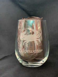 Edgewater Stemless Wine Glass