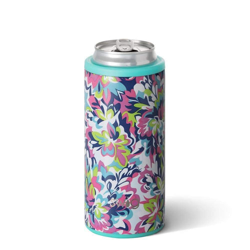Dragonfly Love tie dye Koozie 12oz can Cover
