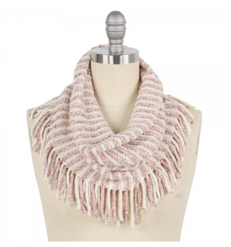 CHINILLE ROSE' SCARF