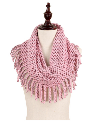 pink fringe scarf for fall annapolis maryland