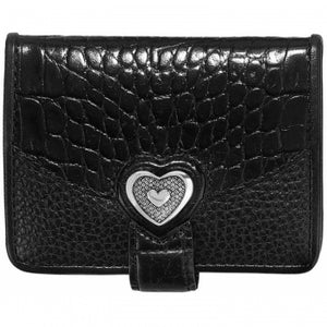 Brighton Bellissimo Heart Small Wallet