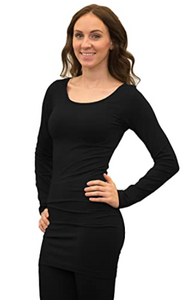 Long Sleeve Tunic - Black