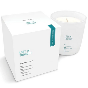 Card Lost In Thought Candle