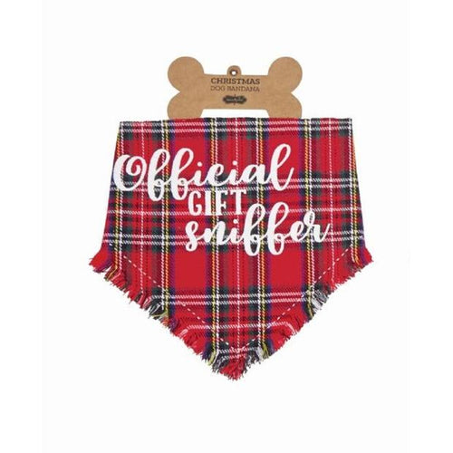 Official Gift Sniffer Dog Bandana