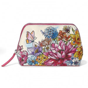 Brighton Enchanted Garden Large Cosmetic Pouch