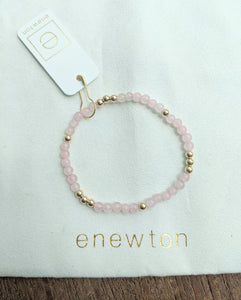 eNewton Worthy Pattern 4mm Bead Bracelet - Available In Five Gemstones