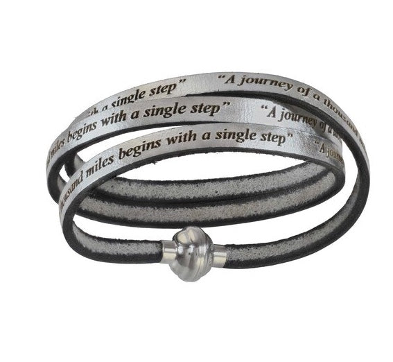 AMen-Leather Wrap Bracelet