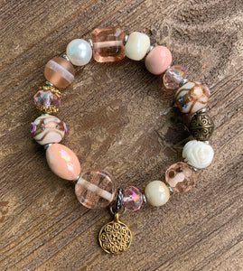 Niki Bracelet-Queens Blush