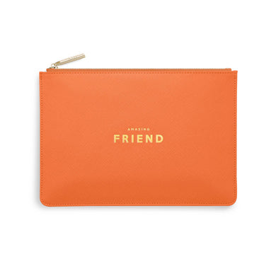 PERFECT POUCH | AMAZING FRIEND | ORANGE