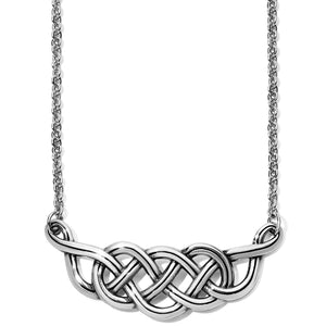 Brighton Interlok Braid Collar Necklace