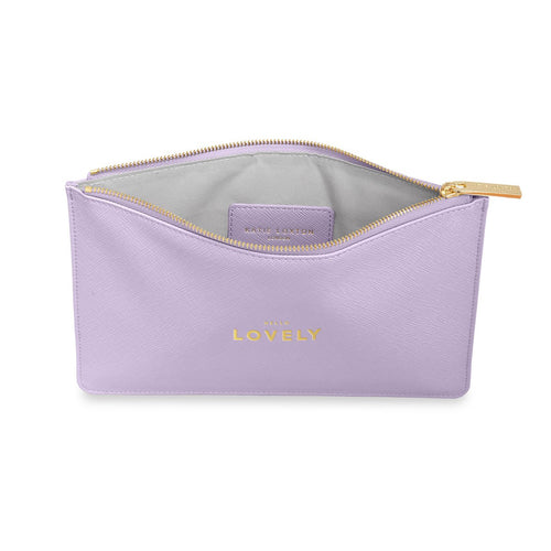 PERFECT POUCH | HELLO LOVELY | LILAC