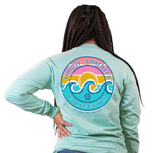 SS Wave Logo Long Sleeve