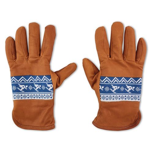 Skier Fairisle Needlepoint Gloves