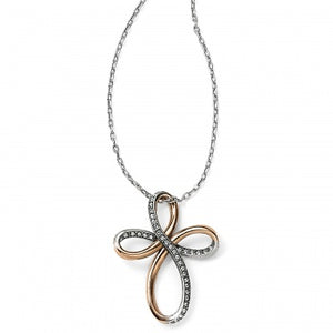 Brighton Neptune's Rings Reversible Cross Necklace