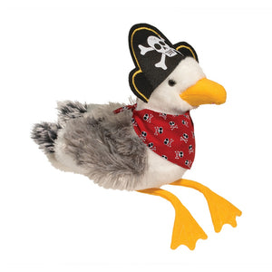 SCULLY SEAGULL WITH PIRATE HAT