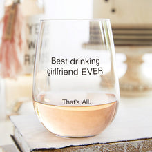 Stemless Wine Glass-Pity Party
